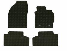 RUBBER TOYOTA AURIS 2007-2013 TAILORED CAR MATS - BLACK
