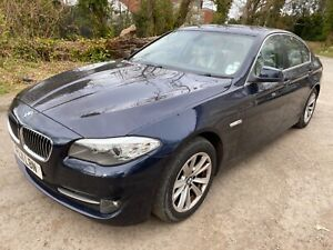 2011 BMW 520D SE AUTO SPARES OR REPAIRS TURBO FAULT **NO RESERVE 1 DAY SALE**