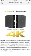 MEASY W2H 4K Wireless 30m HDMI Extender Transmitter Receiver HD Video Audio TV