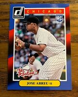 2014 Donruss The Rookie #17 Jose Abreu RC - White Sox