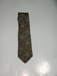 Salvatore Ferragamo Classic Width Silk Animal Print Novelty Tie