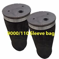 Air Spring 9000 Air Suspension 1/2 npt 150 psi Tapered Sleeve Air Bag Pair