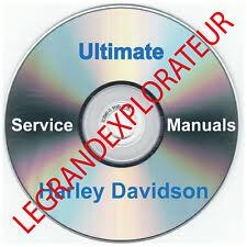 Ultimate Harley Davidson Workshop Service manual Collection Library  100 PDF DVD