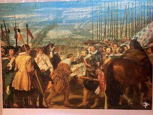 "Ravensburger 1000 jigsaw puzzle   ""The Surrender of Breda"""
