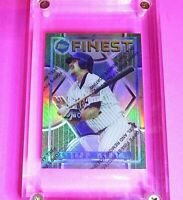 1995 Topps Finest Refractor #121 Jeff Kent NY Mets Baseball Card
