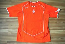 SIZE LARGE HOLLAND NETHERLANDS 2004-2005-2006 HOME NIKE FOOTBALL SHIRT JERSEY L