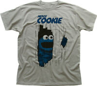here's Johnny Cookie Monster Muppets The Shining funny printed t-shirt OZ9919