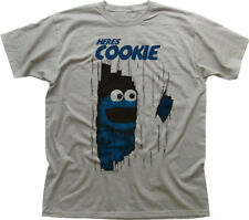 Este es Johnny Cookie Monster Muppets El Resplandor Funny Printed T-shirt 9919
