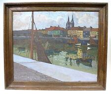 Painting Picture Belgium Um 1900