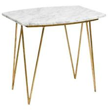 New  Marble and Metal Modern Handmade Side Table Furniture