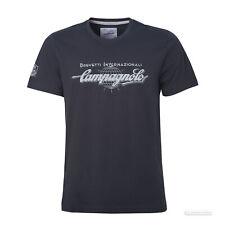 """Campagnolo Classic """"BREVETTI INTERNAZIONALI"""" Logo T-Shirt : BLUE"""