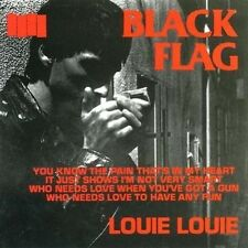 BLACK FLAG - LOUIE LOUIE  CD SINGLE NEU
