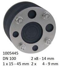 HAUFF Technik Ringraumdichtung HRD 150-2G-3//35 Werkstoff V2A//EPDM