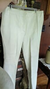 Tower Hill Collection Women's White Leather Pants 14