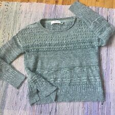 Sparrow Anthropologie Sweater Womens Medium Cashmere Wool Mohair Slouchy Boxy