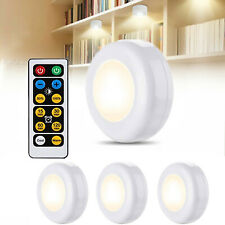 Mini Lights Warm/Cool White Dimmable LED Puck Light For Kitchen Wardrobe Stair