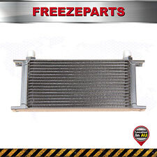 248mm Universal 17 Row AN10 Engine Transmission Aluminum Oil Cooler Black