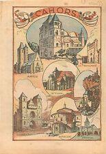 Église Saint-Barthélémy de Cahors Castelfranc Le Vigan Gourdon Souillac  1933