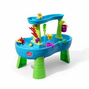 Water Table Showers Splash Pond Step2 Rain Water Table Kids Ships Free