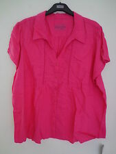 Marks and Spencer Linen Cap Sleeve Tops & Shirts for Women