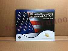 2017 P Uncirculated Coin Set 10 Coins United States Mint PHILADELPHIA w/ COA
