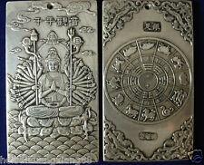 old tibetan tibet silver guan kwan yin buddha dragon statue nepal thangka
