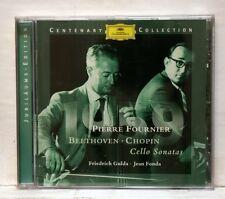 PIERRE FOURNIER, FRIEDRICH GULDA - BEETHOVEN, CHOPIN cello sonatas DGG CD NM