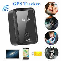 GF-09 Mini GPS Tracker APP-Steuerung Diebstahlsicherungssuchgerät Magnetische