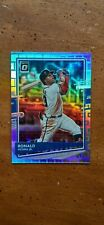2020 Donruss Optic Pandora #169 Ronald Acuna Jr... 34/99...