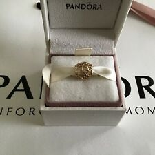 Pandora Solid 14k Gold Multi Hearts Charm, SUPERB CONDITION