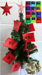 Fruit Tea Advent Calendar London Fruit & Herb Tea Non Chocolate Advent Calendar