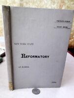 NEW YORK STATE REFORMATORY AT ELMIRA 21st YEARBOOK,1896,Illust