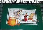 12 x12 x Set da tavola Tovaglietta FORMAGGIO CARRIOLA Berg platzdecken