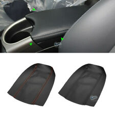NEW Micro Leather Center Console Armrest Box Cover For Toyota Prius 2010-2015