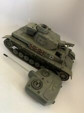 1/16 German Panzer III Tank RC NEW TOY MILLENNIUM Tested Works! Remote Control
