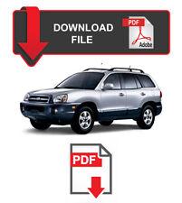 Hyundai Santa Fe 2006 Year Specific Factory Service Repair Workshop Manual