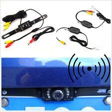 IR Night Vision Vehicle Reversing Parking Camera & Wireless Receiver Transmitter