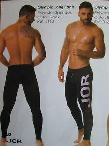 JOR Fitness Legging Pant with Jor Logo Black (Large)