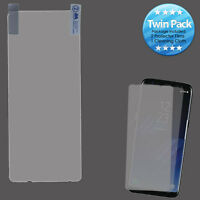 Samsung S8 Plus Clear Twin Pack Ultra Thin LCD Screen Protector Anti-Glare Film