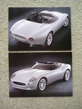 JAGUAR F TYPE CONCEPT ORIGINAL POSTCARDS - 2 Brochure  jm