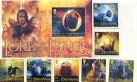 Isle of Man-Lord of the Rings complete collection mnh set and m/s