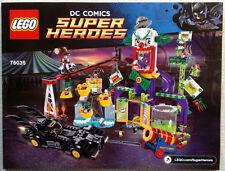 Lego Bauanleitung für Super Heroes Batman II Jokerland 76035 Neu