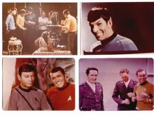 LOT 4: FOUR STAR TREK BLOOPERS 8x10 color photos of 1966 Shatner & Nimoy