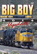 BIG BOY 4014 UPDATE UNION PACIFIC STEAM PENTREX NEW DVD VIDEO