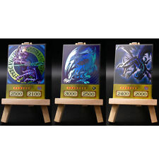 Yugioh ORICA 3x-Set: Yugi, Kaiba, Joey's Main Cards (HOLO) Anime Version Custom