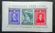 Albania 1938 10th Anniv of Accession.See Details.