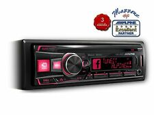 ALPINE CDE-185BT AUTORADIO 3 PREOUTS CD BLUETOOTH IPHONE USB EQ GARANZIA 3 ANNI