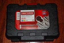 New Craftsman 25 Pc 14 Amp 38 Drive Socket Wrench Set