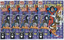 New Mutants #100, Annual #1 (5 copies of each)  avg. NM- 9.2  Marvel  1984