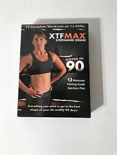 Xtfmax: 90 Day Dvd Workout Program with 12 Exercise Videos + Training